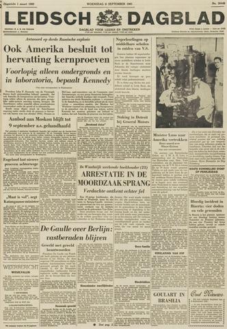Leidsch Dagblad 1961-09-06