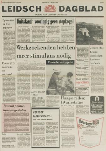 Leidsch Dagblad 1979-08-09