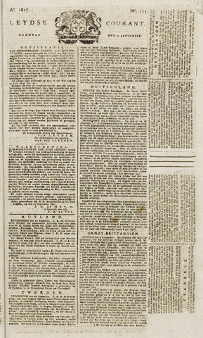 Leydse Courant 1817-09-15