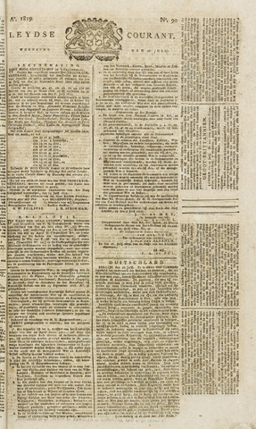 Leydse Courant 1819-07-28