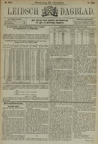 Leidsch Dagblad 1890-10-27