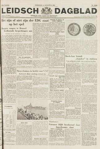 Leidsch Dagblad 1954-08-18