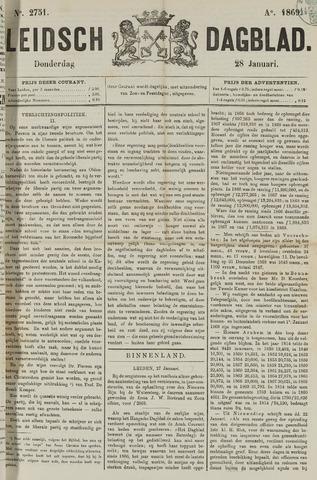 Leidsch Dagblad 1869-01-28