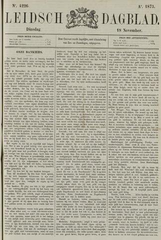 Leidsch Dagblad 1873-11-18