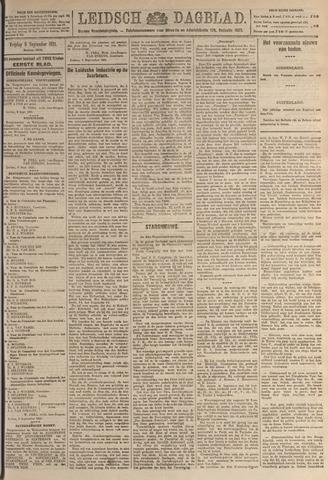 Leidsch Dagblad 1921-09-09