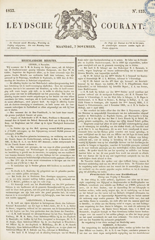 Leydse Courant 1853-11-07