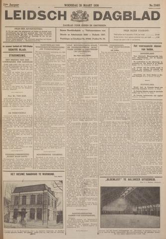 Leidsch Dagblad 1930-03-26