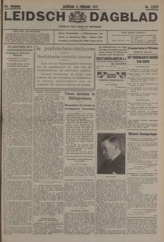 Leidsch Dagblad 1937-02-06