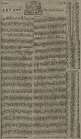 Leydse Courant 1749-05-28