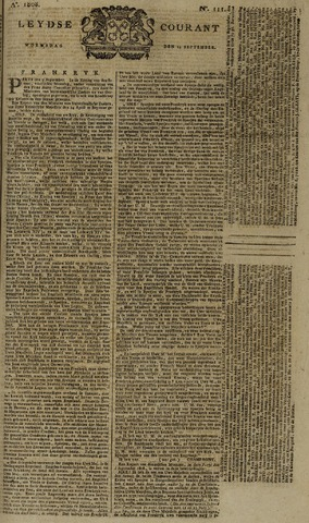 Leydse Courant 1808-09-14