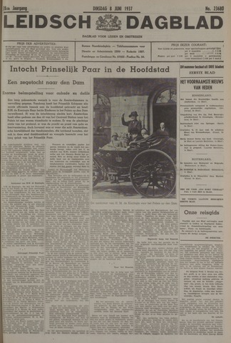 Leidsch Dagblad 1937-06-08