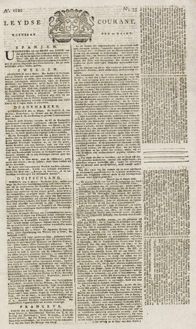 Leydse Courant 1820-03-22