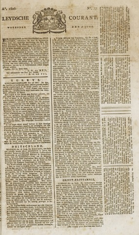 Leydse Courant 1826-06-28