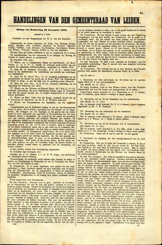 Handelingen van de Raad 1873-11-20