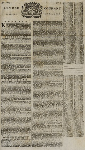 Leydse Courant 1805-07-31