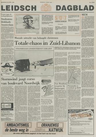 Leidsch Dagblad 1985-04-29