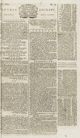 Leydse Courant 1822-03-04