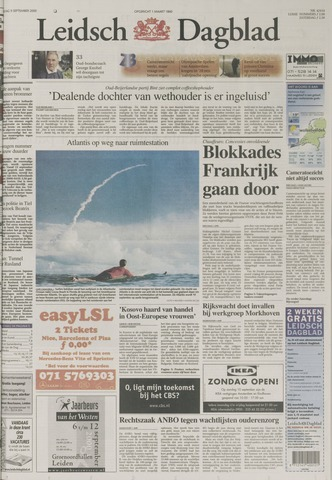 Leidsch Dagblad 2000-09-09