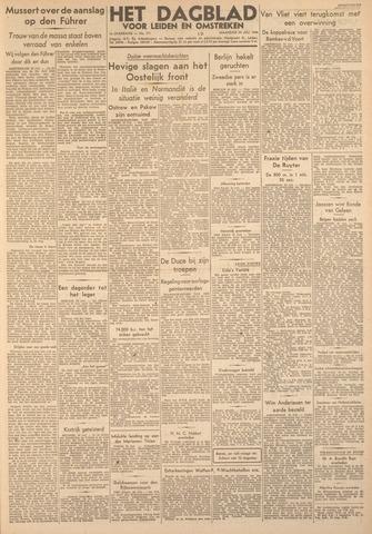 Dagblad voor Leiden en Omstreken 1944-07-24