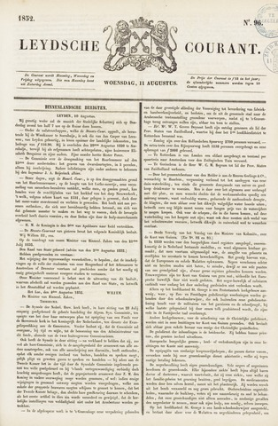 Leydse Courant 1852-08-11