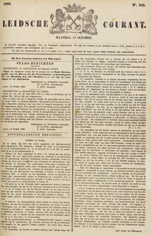 Leydse Courant 1883-10-15