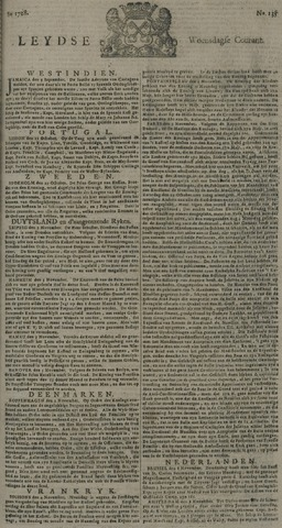 Leydse Courant 1728-11-10