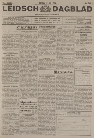 Leidsch Dagblad 1938-07-12
