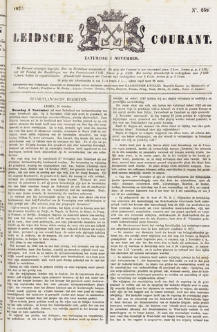 Leydse Courant 1873-11-01