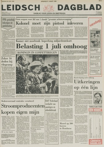 Leidsch Dagblad 1982-06-22