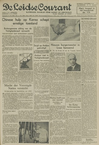 Leidse Courant 1950-11-04