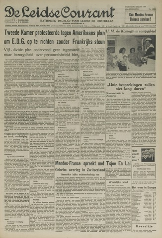 Leidse Courant 1954-06-23