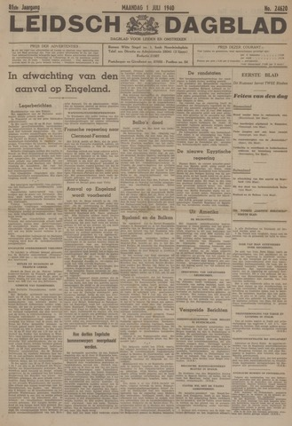 Leidsch Dagblad 1940-07-01