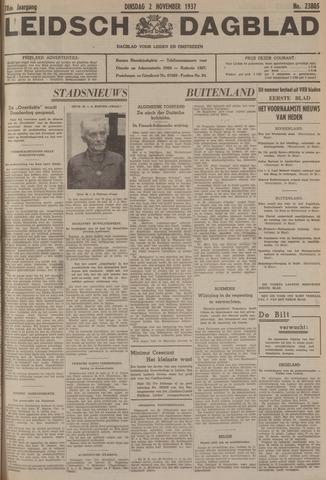 Leidsch Dagblad 1937-11-02