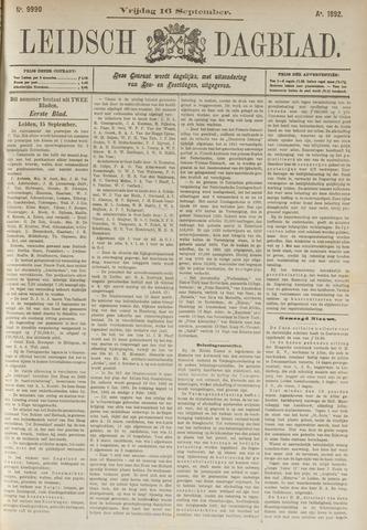 Leidsch Dagblad 1892-09-16