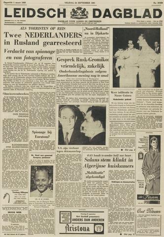 Leidsch Dagblad 1961-09-22