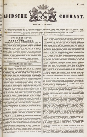 Leydse Courant 1876-10-13