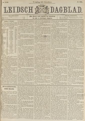 Leidsch Dagblad 1894-10-26