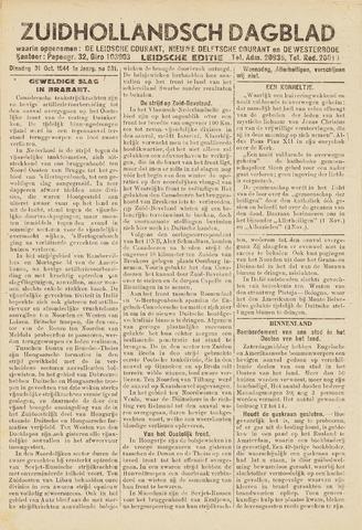 Zuidhollandsch Dagblad 1944-10-31