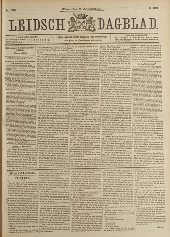 Leidsch Dagblad 1899-08-07