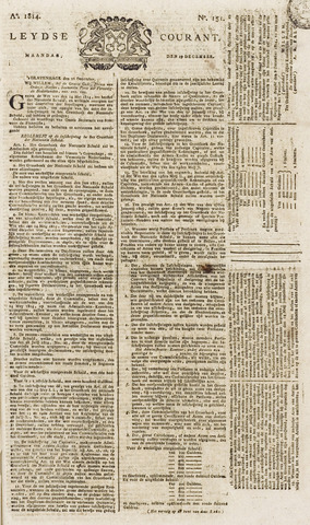 Leydse Courant 1814-12-19