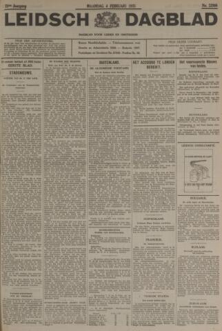 Leidsch Dagblad 1935-02-04