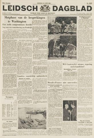 Leidsch Dagblad 1954-06-29