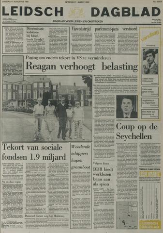 Leidsch Dagblad 1982-08-17