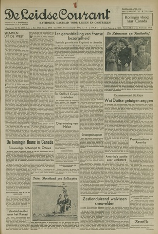 Leidse Courant 1952-04-22