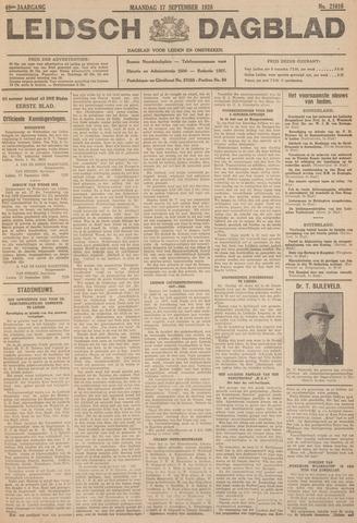 Leidsch Dagblad 1928-09-17