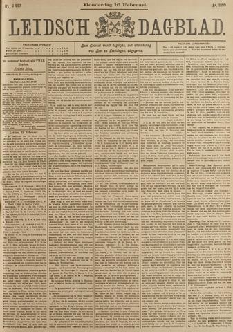 Leidsch Dagblad 1899-02-16