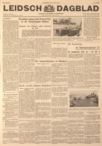Leidsch Dagblad 1947-04-17