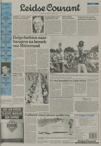 Leidse Courant 1992-06-29