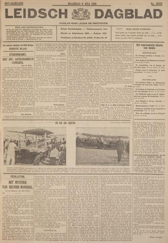 Leidsch Dagblad 1928-07-09