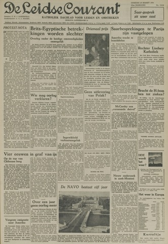 Leidse Courant 1954-03-23